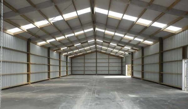 Bird proof shed design
