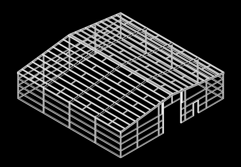 Alpine Buildings shed blueprint
