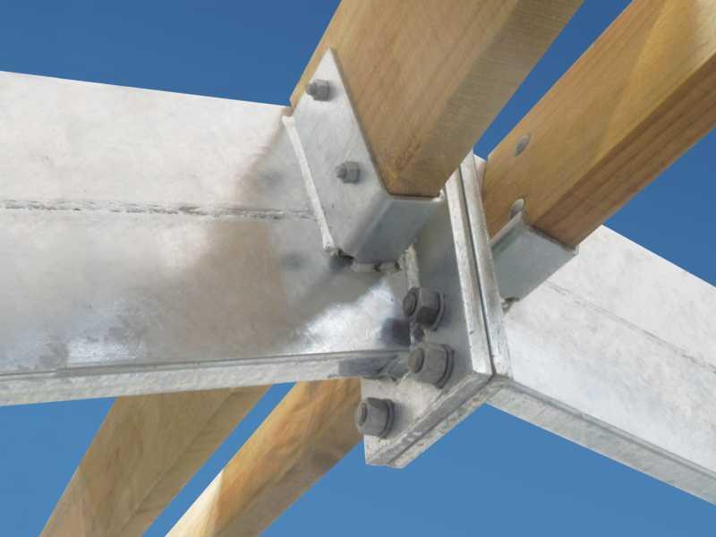 steel rafters