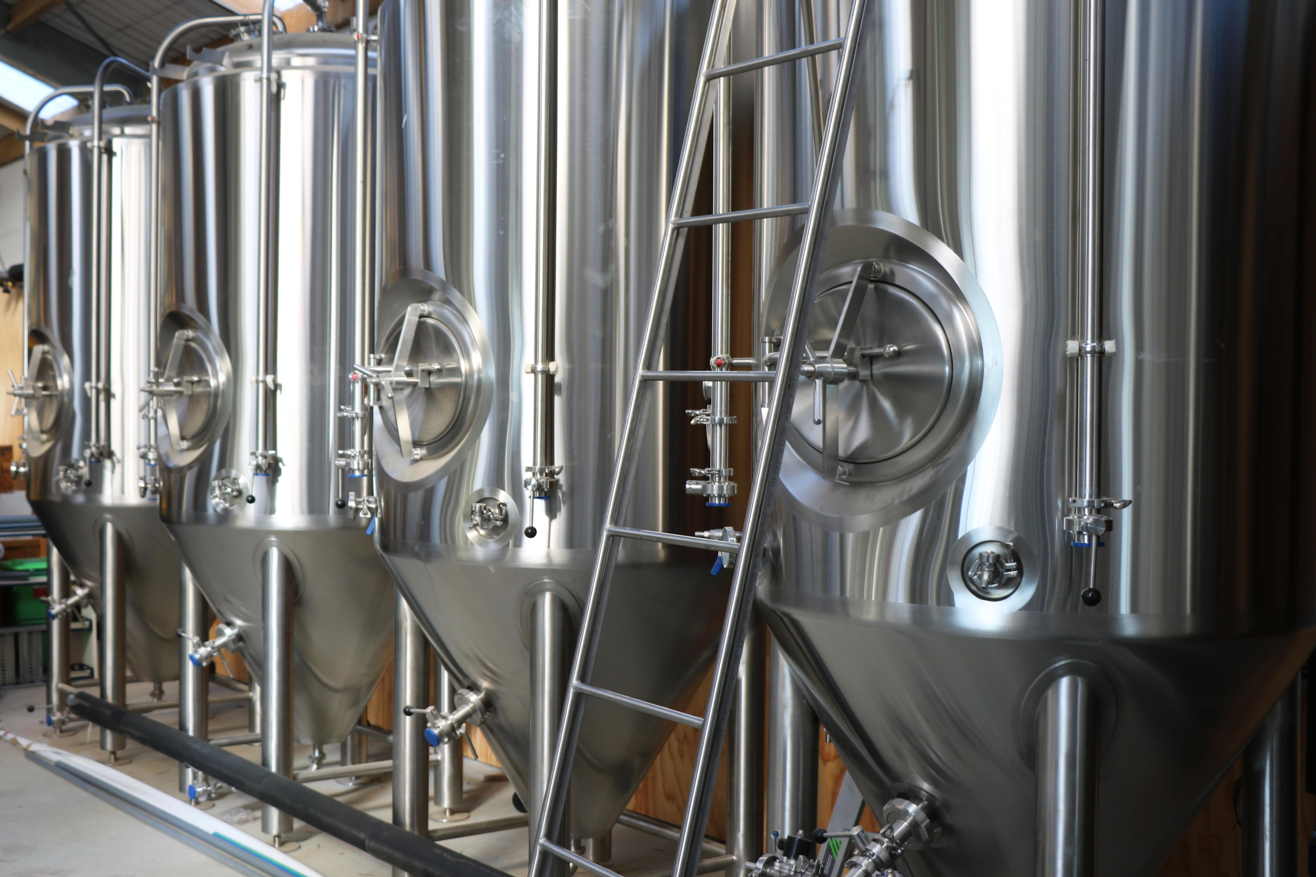 The height of a clearspan is essential for this brewery production