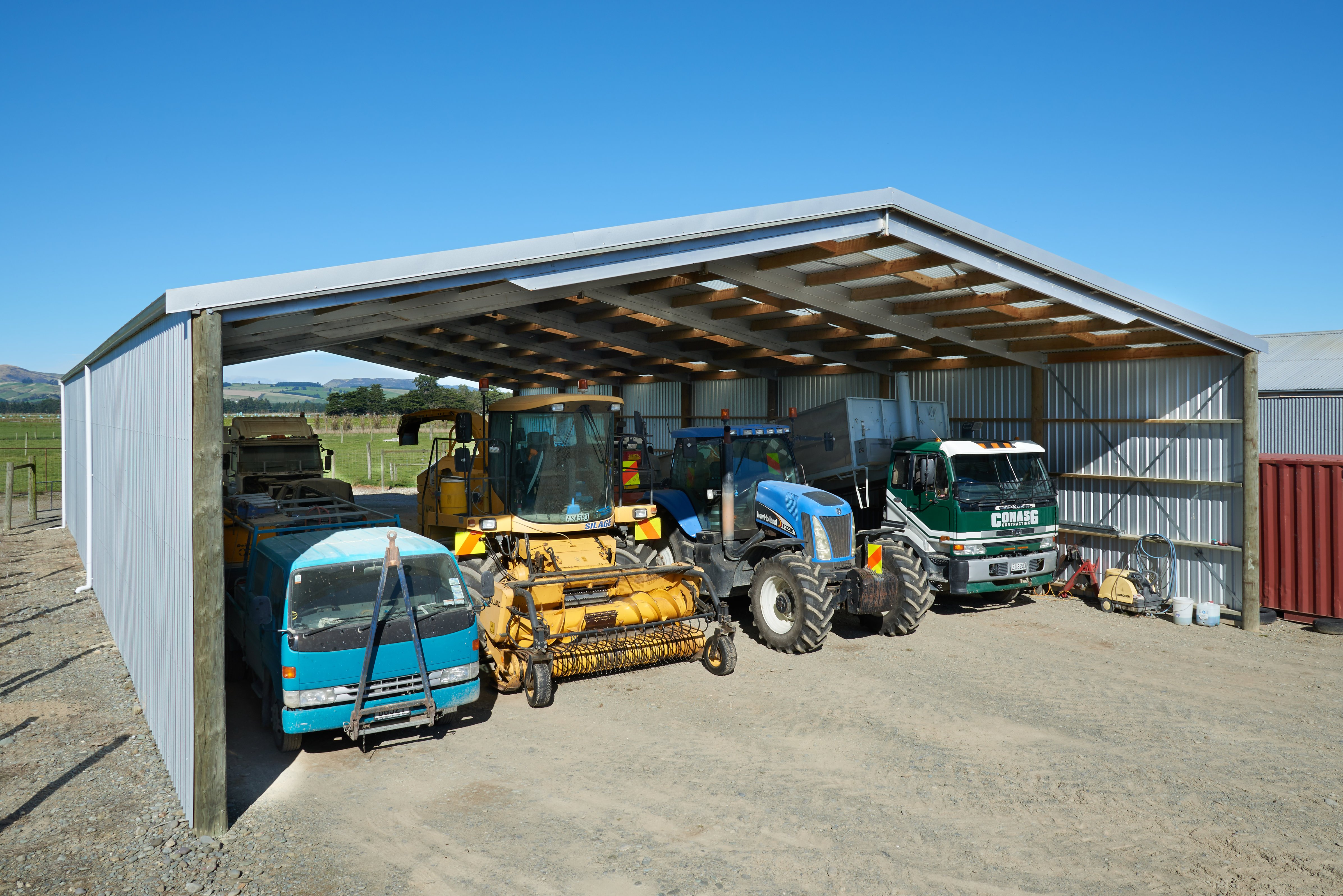 Talk to us about your large farm building needs