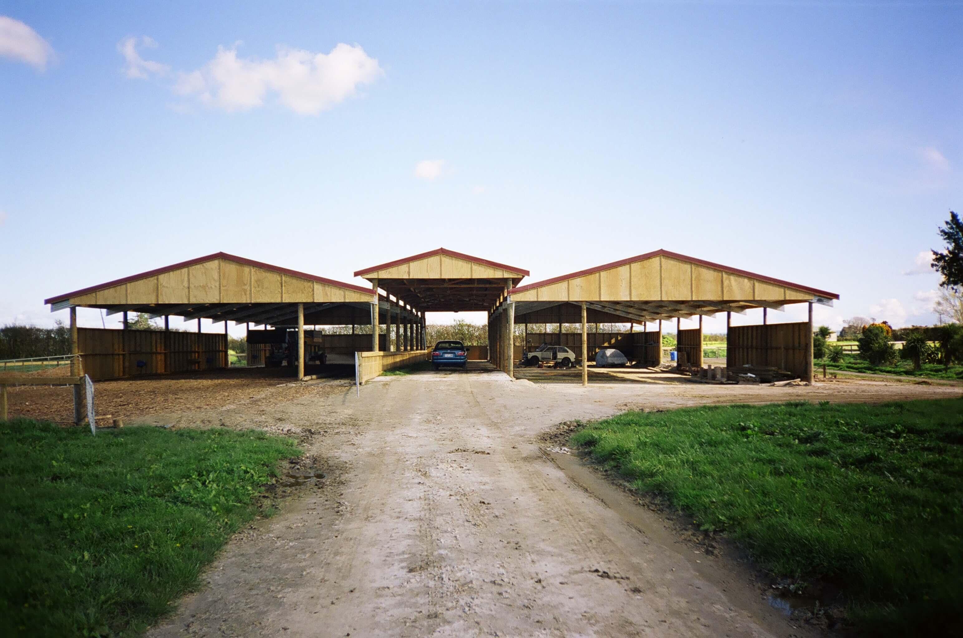 Large animal shelters New Zealand