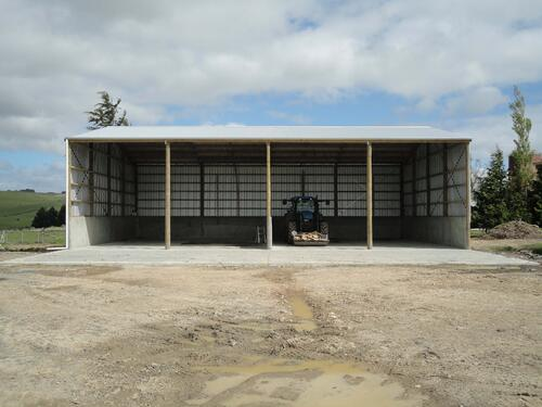 Check out our implement storage sheds