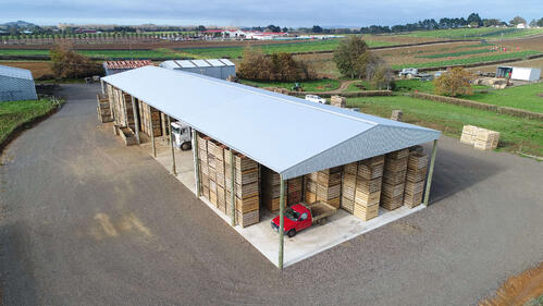 View our produce sheds here