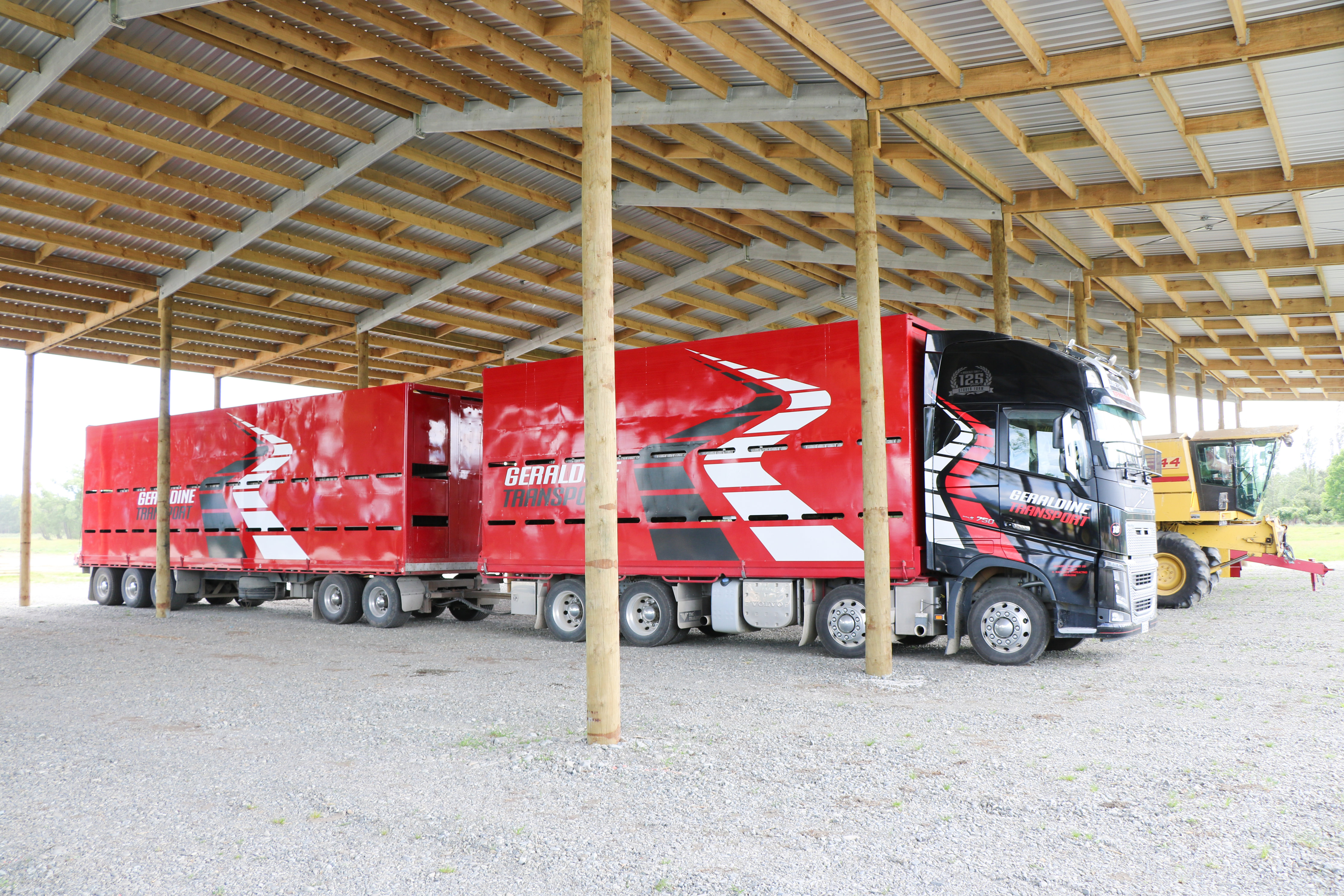 We have years of experience building large farm sheds across nz