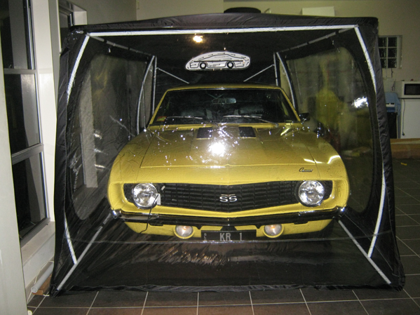 A Carcoon is a protective environment for your collectable cars