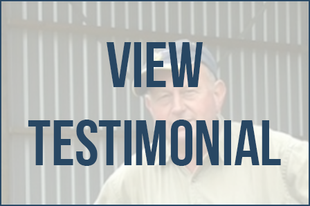 View a testimonial of a farm shed owner