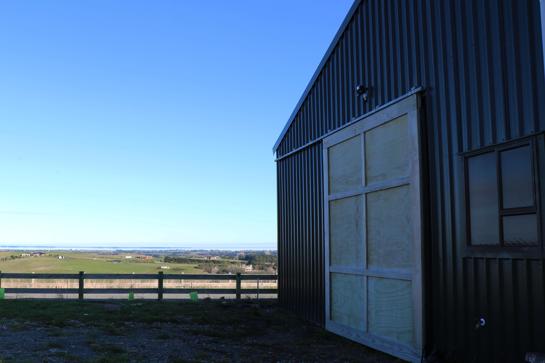 Distillery sheds