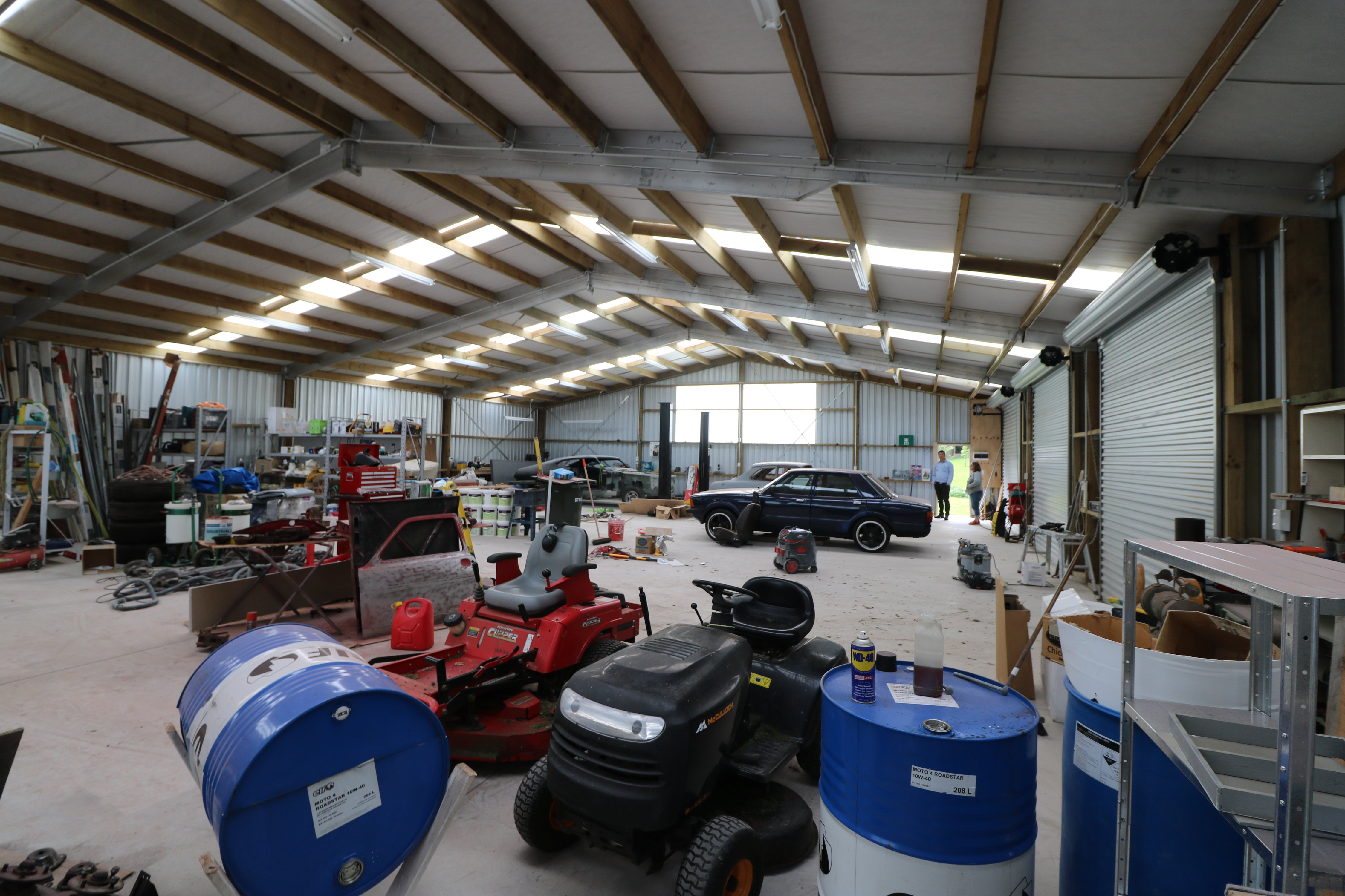 Our clearspan design helps maximise space in your workshop