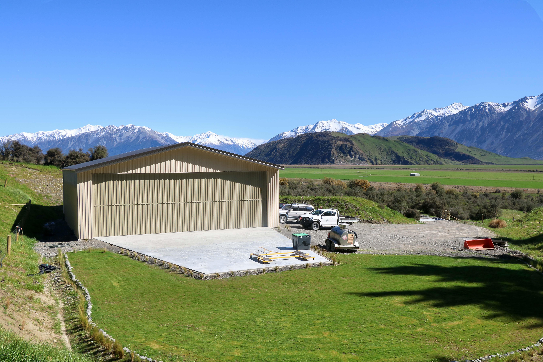 Large kitset sheds