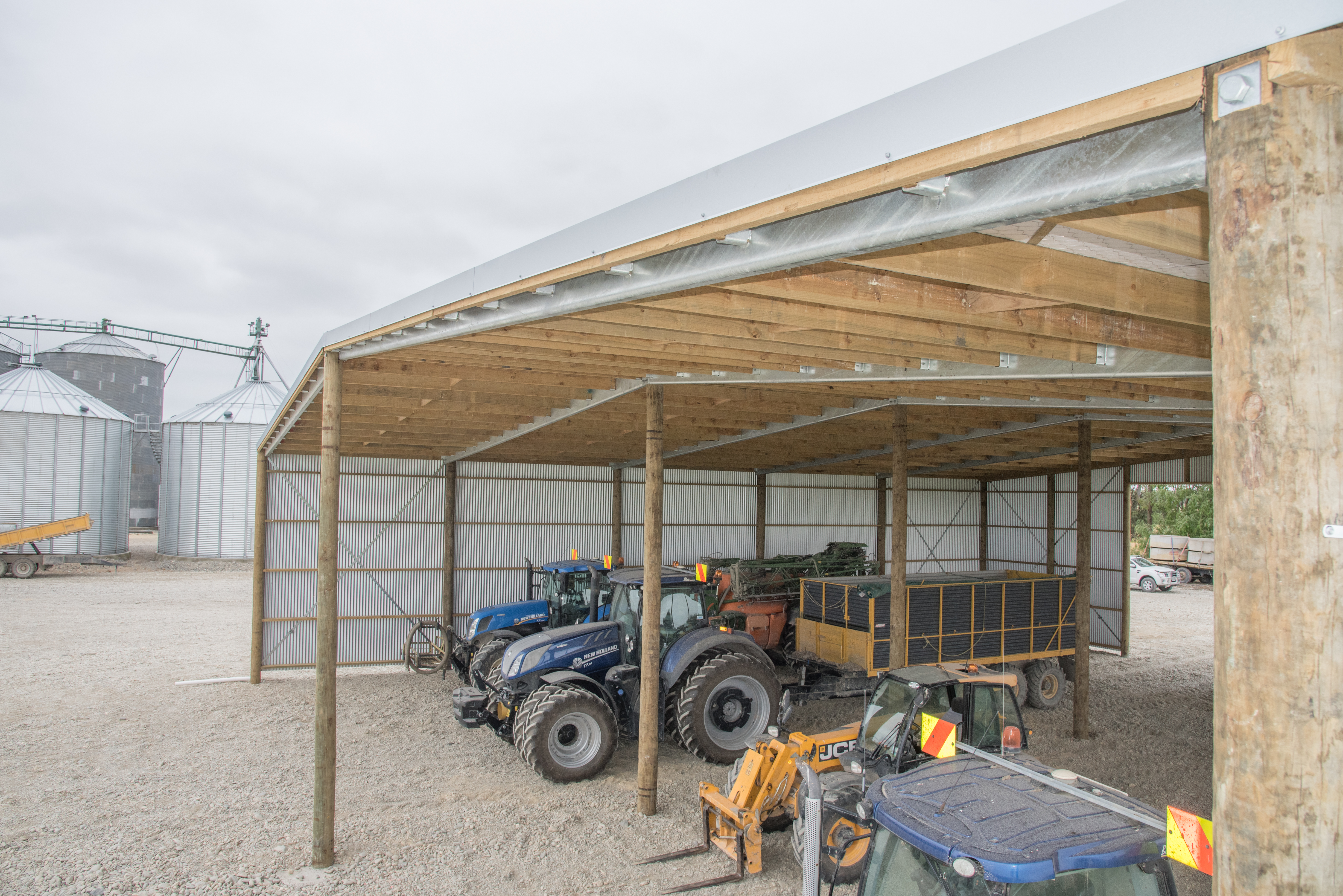 Clearspan shed