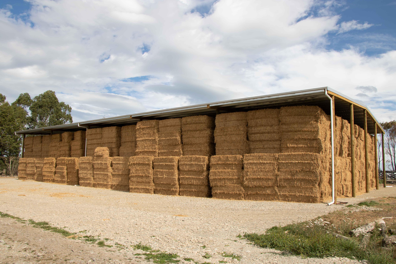 Best sheds for storing hay