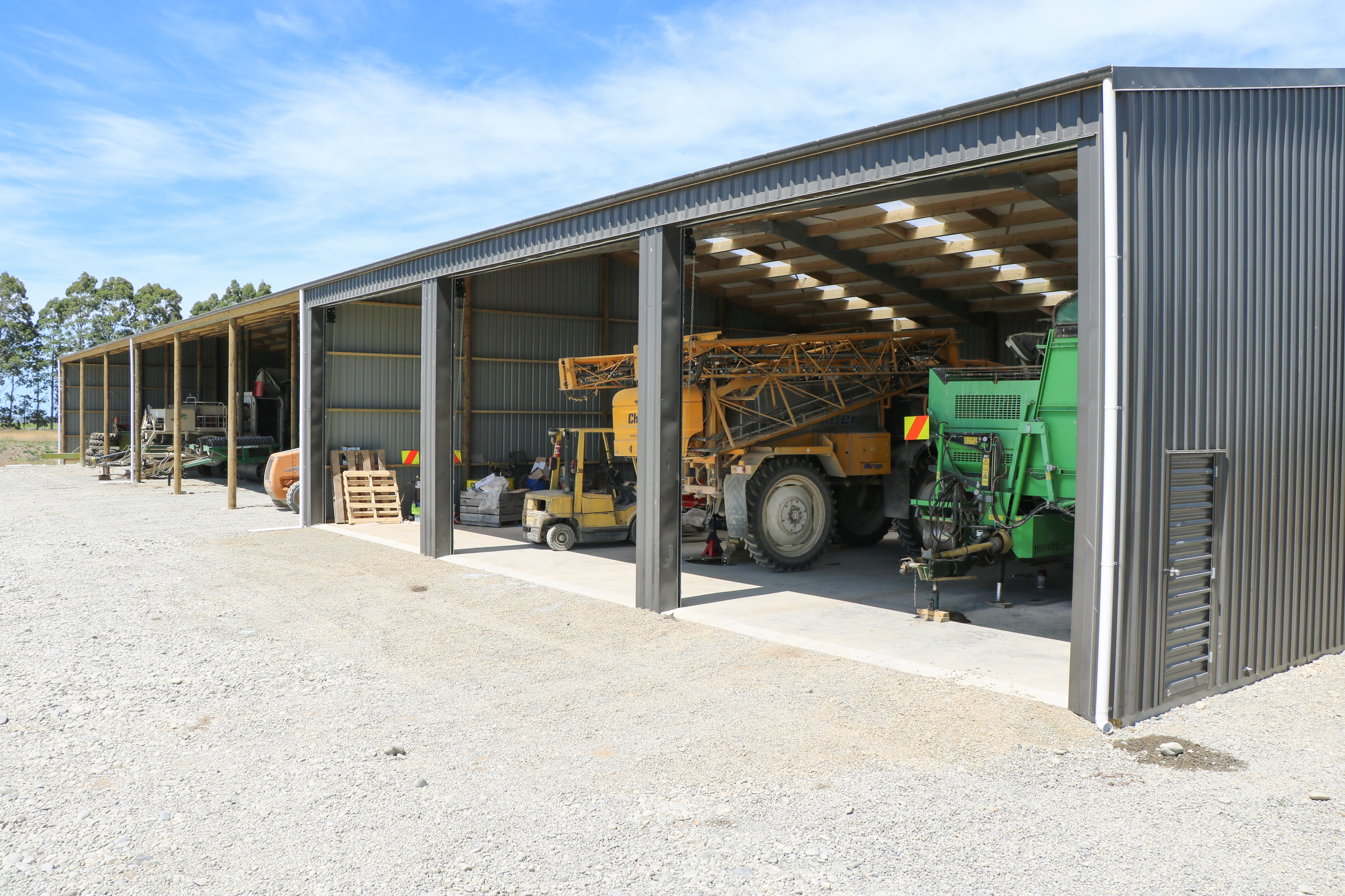 Here we have one of our favourite clearspan sheds