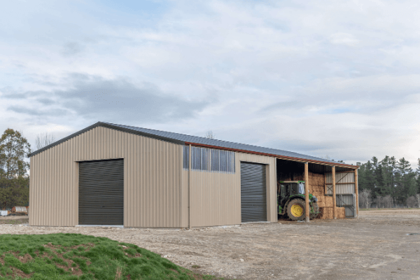 NZ's most functional and durable contractor sheds