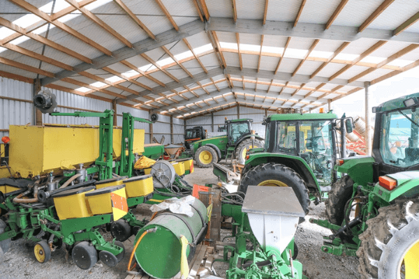 No matter how much farm machinery you have we can create a storage solution for you